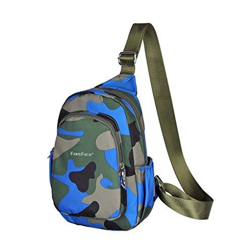 FaFeFace Waterproof Camouflage Shoulder Messenger