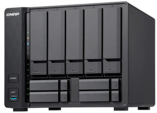 QNAP TVS-951X-2G-US 5+4 Bay NAS Intel Celeron Dual-Core 1.8 GHz, 2GB DDR4 1 X 10GbE Nbase-T LAN, 1 X GbE LAN, 1 x HDMI by QNAP (Image #7)