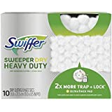 Swiffer Sweeper Dry Heavy Duty, 10 Dry Sweeping Cloths (Pack of 2)