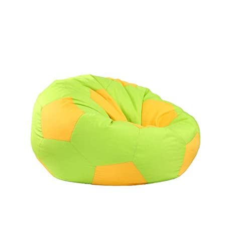 Sillón Puf con Pelota de fútbol Big Joe Bean Bag Chair Colores ...