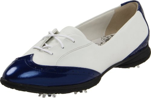 Callaway Women's Rhiona W476-16 Golf Shoe,White/Navy,7 M US