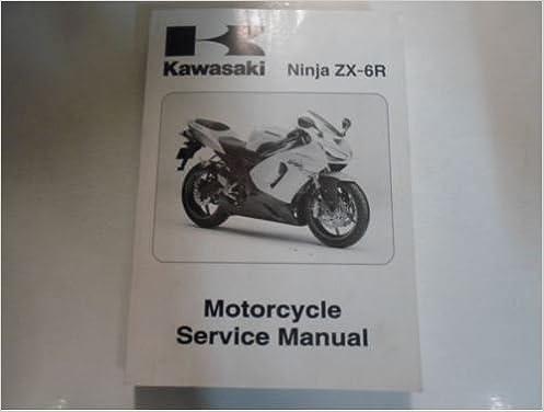 Amazon.com: 2005 2006 Kawasaki Ninja ZX-6R Motorcycle ...