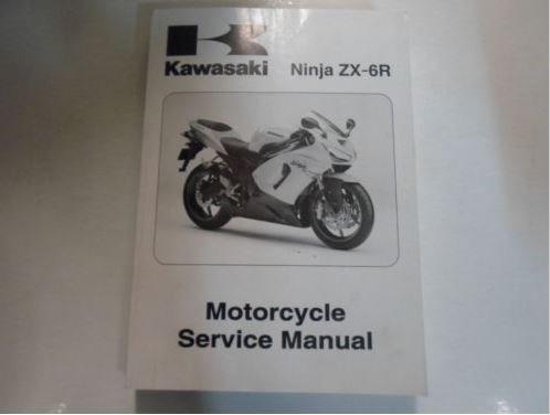 2005 2006 Kawasaki Ninja ZX-6R Motorcycle Service Repair ...