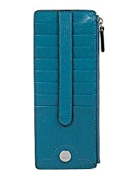 Lodis Business Chic RFID Credit Card Case with Zipper Pocket