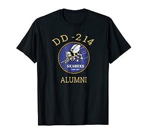 Navy Seabees Shirt DD 214 Alumni T Shirt from Navy Seabees Shirt Apparel