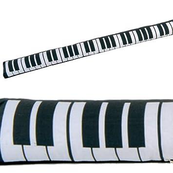 Türwindstopper amazon de zugluftstopper piano mit sandfüllung türwindstopper