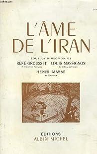 L'âme de l'Iran par Henri Massé