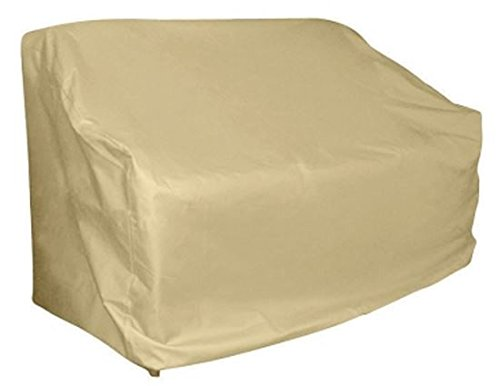 Living Accents Loveseat Cover 67'' X 36'' X 35'' Taupe Pvc Coat W/Poly Backing by LIVING ACCENTS