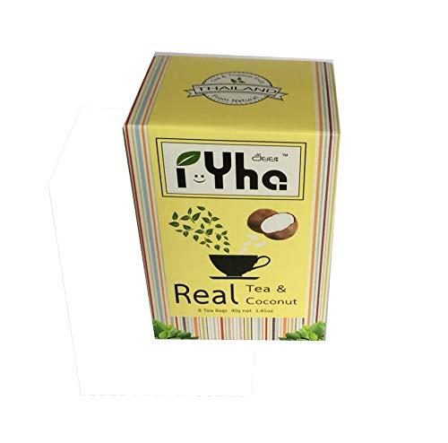CDM product IYHA dried Coconut and Thai fruit tea 8 Tea bags 40 g /1.41 Oz. Real Fruit Tea. big image