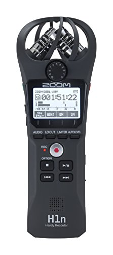 Digital Audio Recording Equipment - Zoom H1n Handy Recorder (2018 Model)