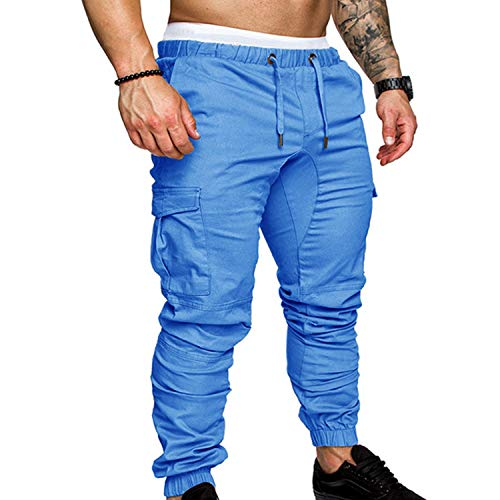 Pants Men Cotton Clothes Hip Hop Streetwear Joggers Pantalon Hombre Sweatpants Pants Man Trousers Casual Pantalon Homme Cargo