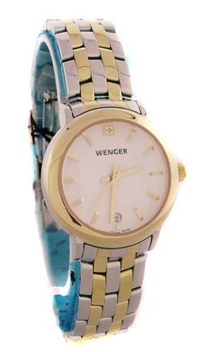 Wenger Ladies 100 Meter Two Tone Watch 72686