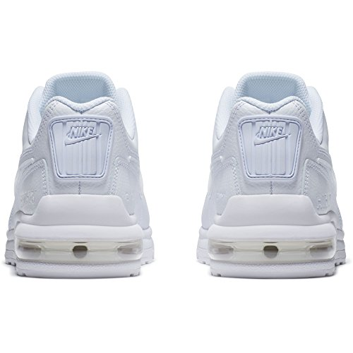 Nike Mens Air Max Ltd 3 Loopschoen Wit / Wit / Wit