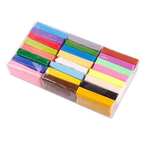 Phoneix 10pcs Beautiful Random Color Handmake Tools Soft Effect Polymer Clay
