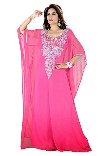 Maxi robe PalasFashion Caftan de Dubaï pour femmes KKPF17086