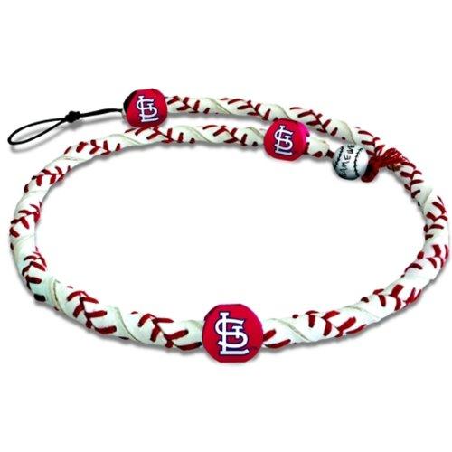 Louis Cardinals Classic Baseball (Gamewear 4421404175 St. Louis Cardinals Classic Frozen Rope Baseball Bracelet)