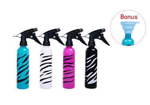 Purpose Spray Bottle - Empty Multi-Purpose Spray Bottle Spray Bottle Pack of 4 Assorted Color 280ML (9oz) Bundle of 4
