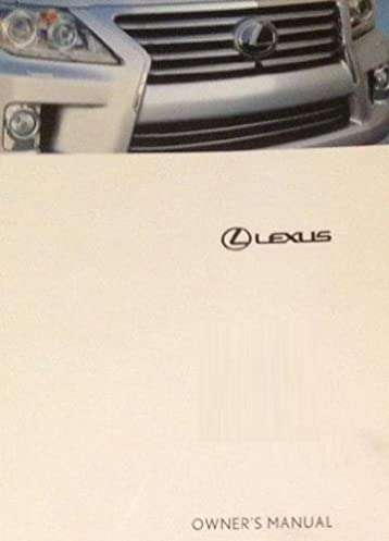 2011 lexus gx460 owner manual no supplemental material toyota rh amazon com 2011 lexus ls 460 owners manual 2012 Lexus GX 460