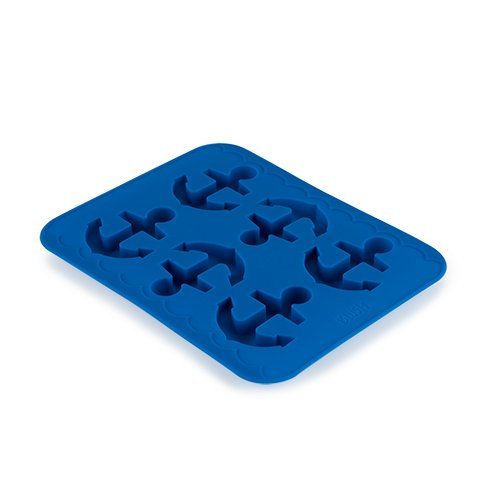 Anchor Silicone Mold and Ice Cube Tray- Candy, Soap, Toy, DIY by BLUSH