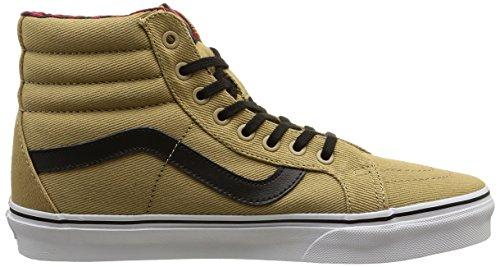 Twill 7 High US 5 Cornstalk Man Shoes CA Hi Black amp; M D Gingham SK8 US Men 8 Vans M Women Skateboarding B MTE qwSx6YYH7