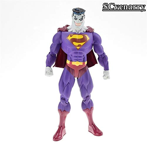 VIET FG DC Comics Batman The Dark Knight Hero Wicked Superman Zombie Superman PVC Action Figure Dolls Model Toy 10cm Gift for Your Kids -