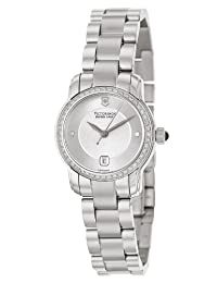 Swiss Army Vivante Stainless Steel & Diamond Womens Swiss Watch Silver Dial 241489