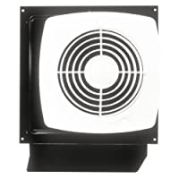 Ventilador a través de pared Broan 509S con interruptor giratorio integral, 8 pulg. 180 CFM 6.5 Sones
