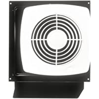Broan 509S Through-Wall Fan with Integral Rotary Switch, 8-Inch 180 CFM 6.5 Sones