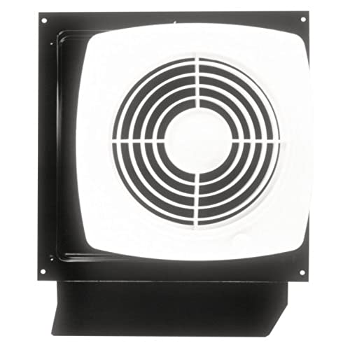 Attirant Broan 509S Through Wall Fan With Integral Rotary Switch, 8 Inch 180 CFM 6.5  Sones