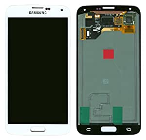 Samsung Galaxy S5 Digitizer LCD Touch Screen Replacement Assembly /White