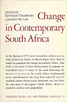 Change in Contemporary South Africa (Perspectives on Southern Africa)