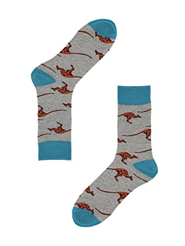 Real Sic Casual Designer Socks for Men and Women - Exotic Animal Series - Breathable and Lightwear Cotton ()