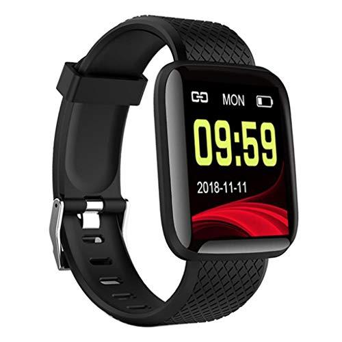 non-brand Bluetooth Smartwatch Fitness Tracker mit Schrittzähler und Pulsmesser Intelligente Armbanduhr für iOS 9.0…