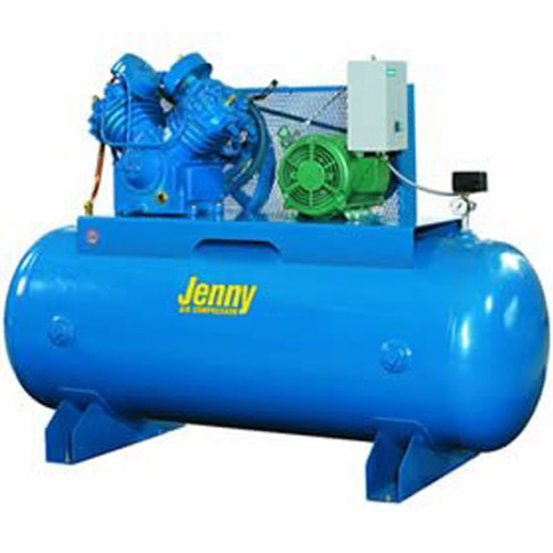 Jenny U75B-80 Two Stage Horizontal Electric Stationary Co...