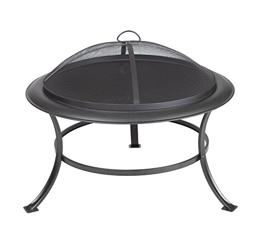 Fire Sense Tokia Round Fire Pit Antique Bronze 62237