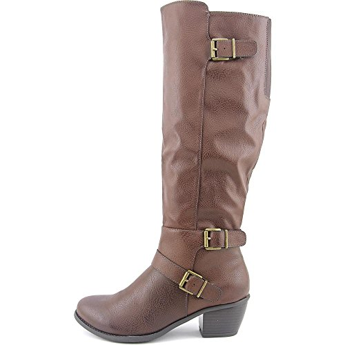 Madeline Girl Excavación Para Mujer Us 6 Brown Knee High Bota