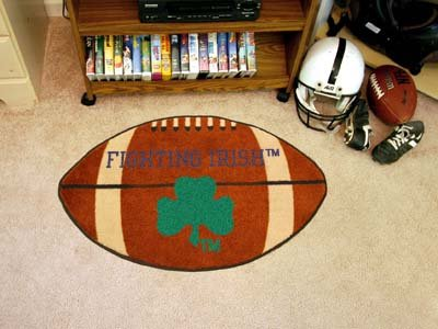 Fighting Irish Football Rug - 5
