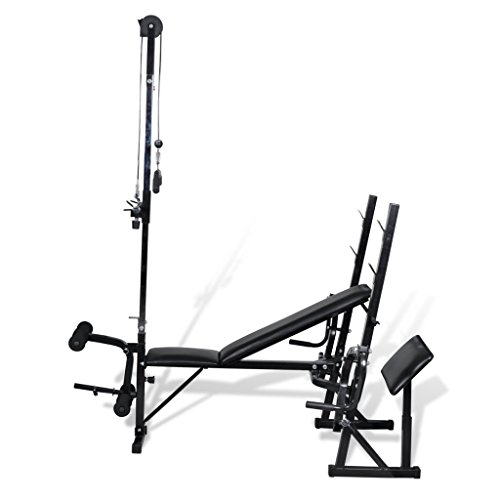 Anself Multifunction Weight Bench for Home Fitness Gym by Anself