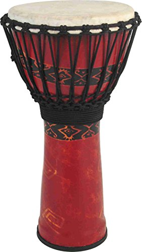 Toca Synergy Freestyle Djembe Red 12 Inches (Toca Percussion)