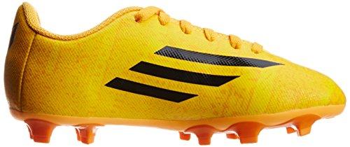 Adidas Leo Messi F5 FG Scarpe da calcio bambini camme giallo/arancio