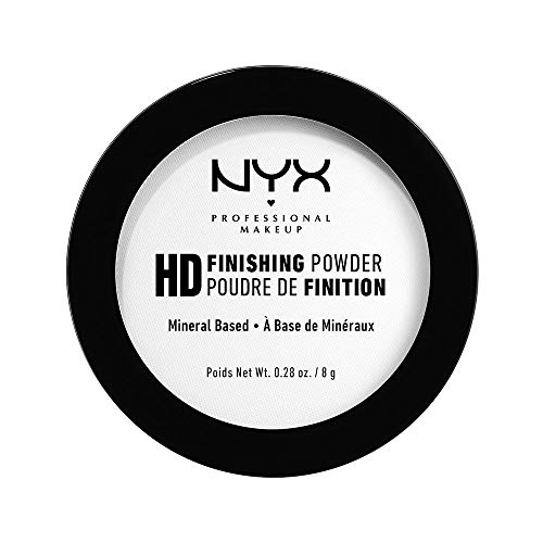 NYX PROFESSIONAL MAKEUP High Definition Finishing Powder, Translucent, 0.28 Ounce ()