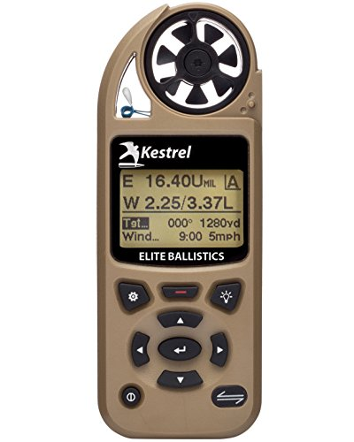 (Kestrel 5700 Elite Weather Meter with Applied Ballistics, Tan)