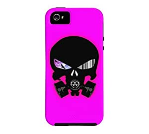 #TheSchematic iPhone 5/5s Fuchsia Tough Phone Case - Design By Humans