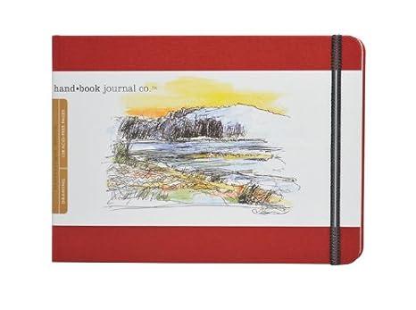 Large Portrait 8-1//4 x 5-1//2 Travelogue Drawing Book Ultramarine Blue Artist Journal