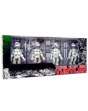 ninja turtles black white - 7