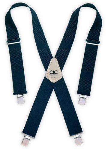 CLC Work Gear 110BLU 2'' Wide Blue Work Suspenders