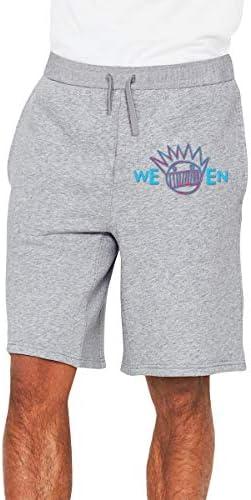 Ween ロゴ ハーフパンツ ショートパンツ フィットネス スポーツ ランニング 吸汗速乾 ズボン カジュアル メンズ