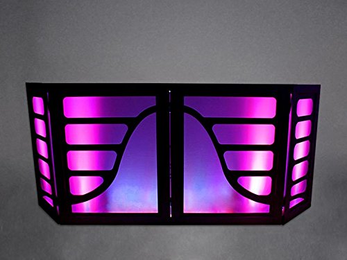 DJ Facade / DJ Booth by Dragon Frontboards: Ritmo 4 Panel / Black Frame