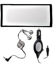 Sony PSP Starter Kit (Earphones, Screen Lens, DC Car Adaptor)