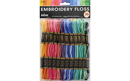 (Janlynn Variegated Embroidery Floss Pack)